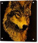 Spirit Wolf Acrylic Print