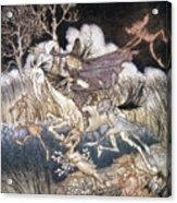 Spirits In Sleepy Hollow Acrylic Print