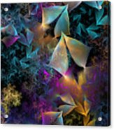 Spirits Of The Deep Acrylic Print