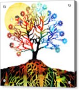 Spiritual Art - Tree Of Life Acrylic Print by Sharon Cummings