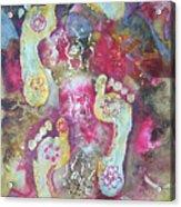 Spiritual Awakening Acrylic Print by Vijay Sharon Govender