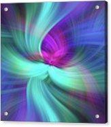 Spiritual Freedom. Mystery Of Colors Acrylic Print