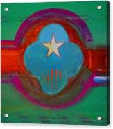 Spiritual Green Acrylic Print