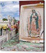 Spiritual Tile Acrylic Print
