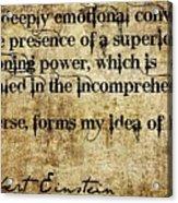 Spiritual501 Acrylic Print