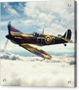 Spitfire P7350 Acrylic Print