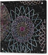 Spirograph 1010 Acrylic Print