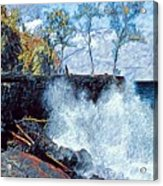 Splash At Mackenzie Acrylic Print