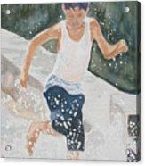 Splash Dance Acrylic Print