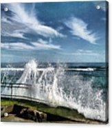 Splash Happy Acrylic Print