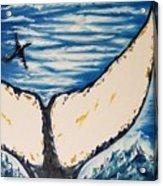 Ocean Tail Acrylic Print