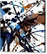 Splatter Gig Acrylic Print