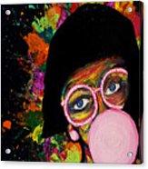 Splatters Acrylic Print