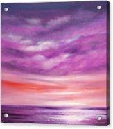 Splendid Purple Acrylic Print