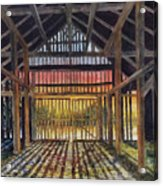Splendor In The Barn Acrylic Print