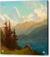 Splendor Of The Grand Tetons - Wyoming Territory Acrylic Print