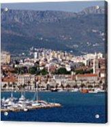 Split Croatia's Waterfront Acrylic Print