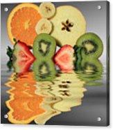 Split Reflections Acrylic Print