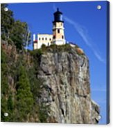 Split Rock 2 Acrylic Print by Marty Koch