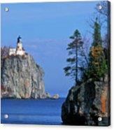 Split Rock Lighthouse - Fs000120 Acrylic Print