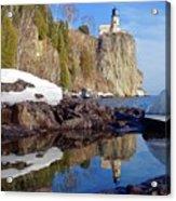 Split Rock Reflections Acrylic Print