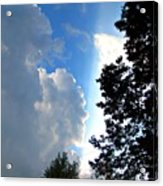 Split Sky Acrylic Print