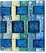 Split Weave Acrylic Print
