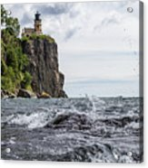 Splitrock Lighthouse 8-4-17 Acrylic Print