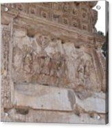 Spoils Of Jerusalem Acrylic Print