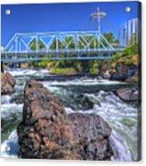 Spokane Falls 2 Acrylic Print