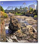 Spokane Falls Acrylic Print