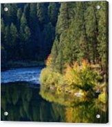 Spokane Rivereflections Acrylic Print