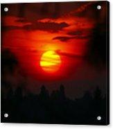 Spokane Sunrise Acrylic Print