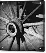 Spoked Wheel Acrylic Print
