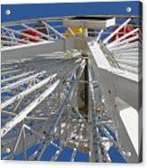 Spokes Of A Ferris Wheel Acrylic Print
