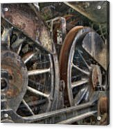 Spokes Of The Past Acrylic Print