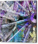 Spokin Acrylic Print by Ed Hall