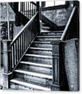 Spooky Grand Staircase Acrylic Print