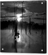 Spooky Sunrise Acrylic Print