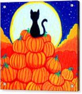 Spooky The Pumpkin King Acrylic Print