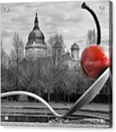 Spoon And Cherry Acrylic Print