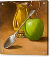 Spoon And Creamer  Acrylic Print