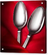 Spooning In Two Course Acrylic Print