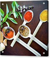 Spoons N Spices 3 Acrylic Print