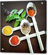 Spoons N Spices Acrylic Print