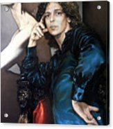 S.portrait Acrylic Print by Valeriy Mavlo