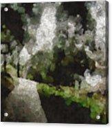 Spot Light On A Fight On A Lone Path Acrylic Print