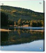Sprague Lake At Dusk Rocky Mountain National Park Acrylic Print