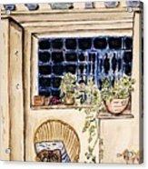 Sprig Armchair. Acrylic Print
