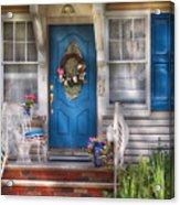Spring - Door -  A Bit Of Blue  Acrylic Print